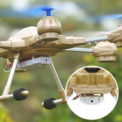 Spesifikasi Drone HUAJUN W609-9 - OmahDrones