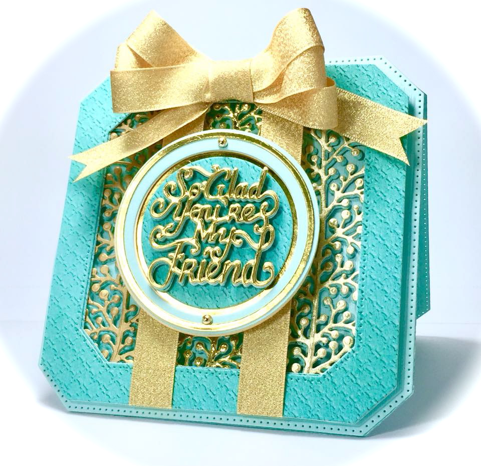 Papers Tiffany Blue Cut From S Front Back Cardstock Covers Of Customer Magazine Gold 3 Golden Gift Wring