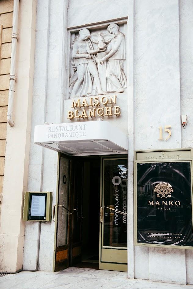 2ab3e50e5c5d64 Les rendez-vous estivaux du restaurant Maison Blanche à Paris   DAME ...