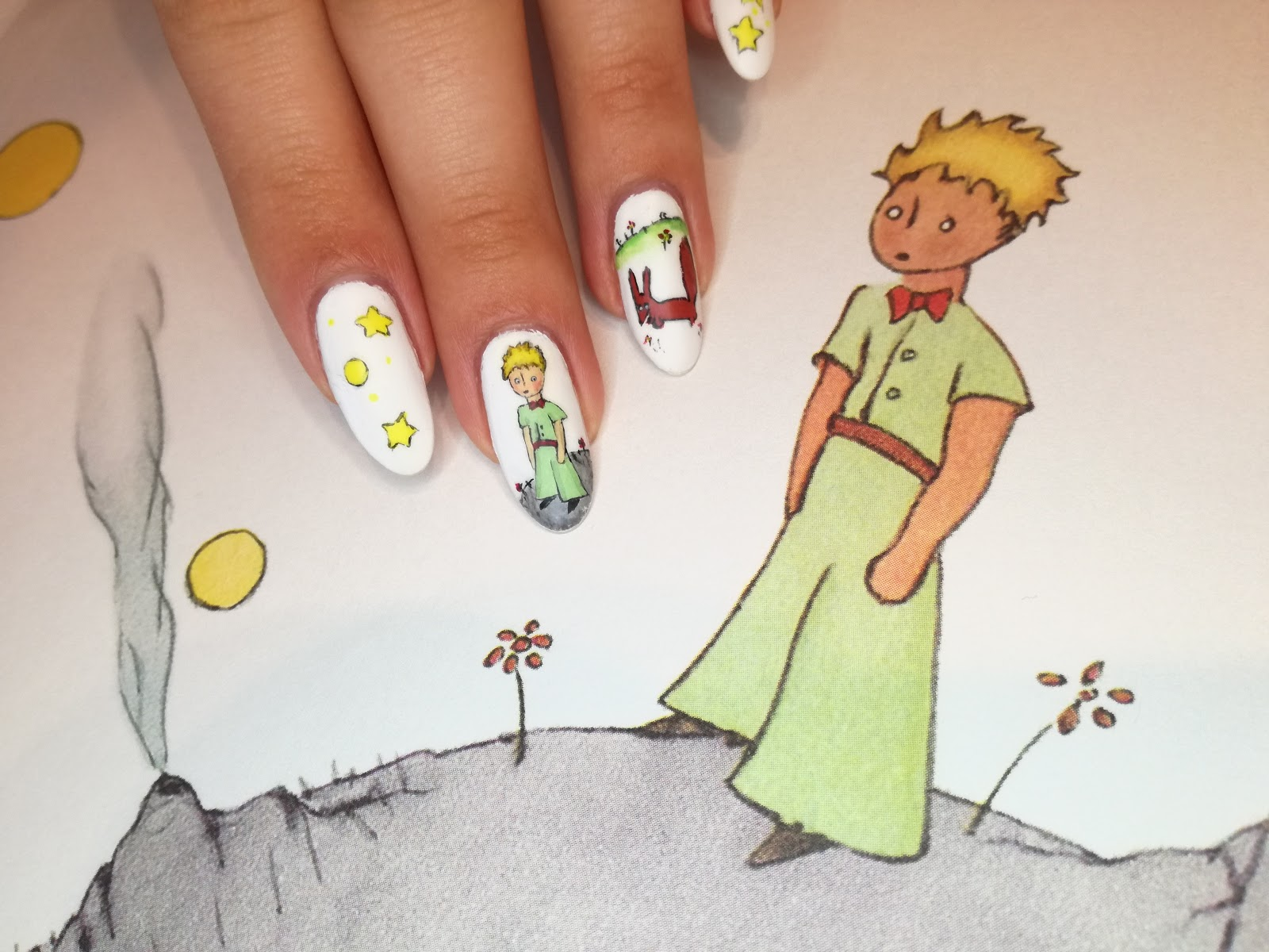 Mały Książę - rysunek