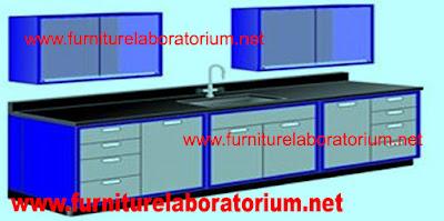 furniture laboratorium - meja laboratorium