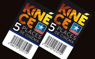 Offre adhérents = Réduction tarif des places Kinepolis