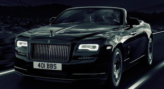 Rolls-Royce Dawn Shows Its Darker Side With New 593-HP Black Badge Edition
