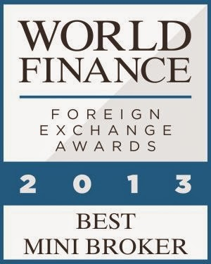 anugerah exness, exness award Best Mini Broker 2013 World Finance
