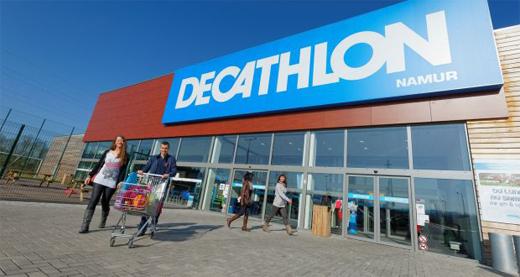 f0f862975 A loja começou a fazer enorme sucesso e com isto mais e mais consumidores  procuravam a DECATHLON