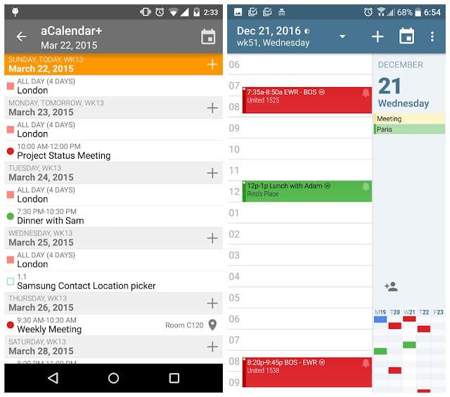 aCalendar+ Calendar & Tasks Cracked