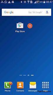 Navigate Google Play App