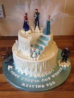 contoh kue ulang tahun frozen