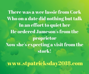 Poems about st patricks day 2018