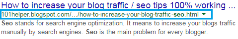 How to optimize links and tags for seo in blogger