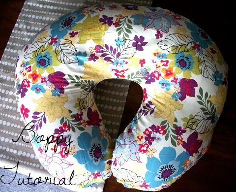 Katie J Gibson Boppy Cover Tutorial