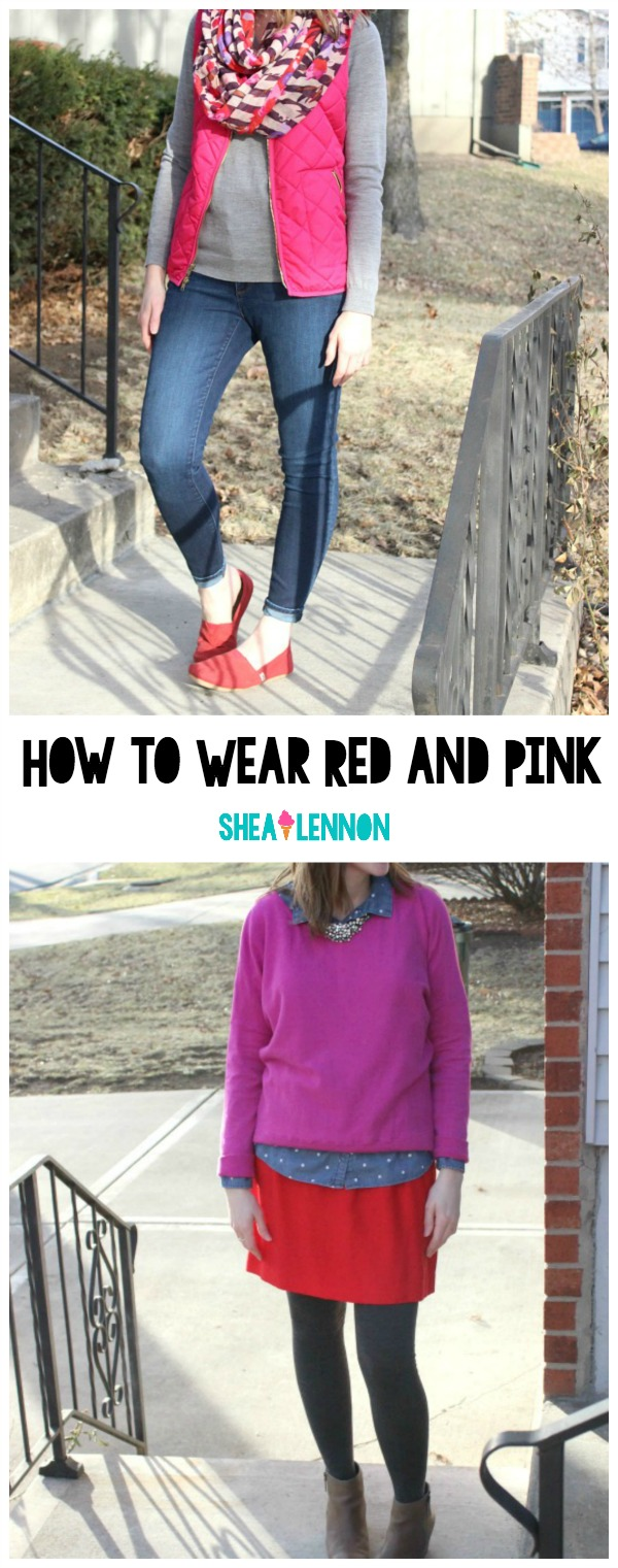 How to mix red and pink | www.shealennon.com