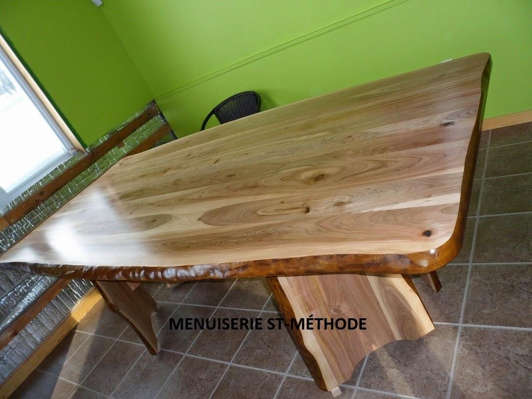 menuiserie st m thode table en tranche d 39 arbre de cerisier vendu. Black Bedroom Furniture Sets. Home Design Ideas