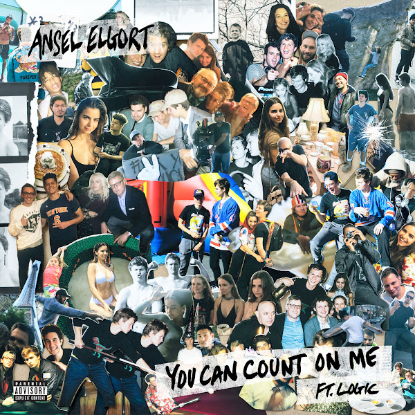 Ansel Elgort - You Can Count on Me (feat. Logic) - Single  Cover