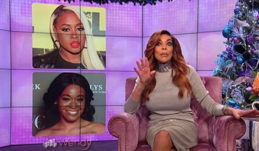 Wendy Williams shades the hell out of Azealia Banks and thinks she sells sex for money