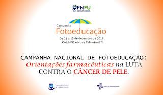 Fotoeducação 2017: CES/UFCG realiza campanha para prevenção ao câncer de pele