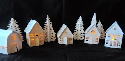 carmen 39 s kleine welt kleines weihnachtsdorf. Black Bedroom Furniture Sets. Home Design Ideas