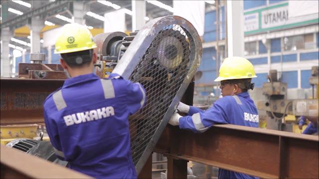 Lowongan Kerja PT. Bukaka Teknik Utama, Jobs: Production Supervisor, Mechanical Engineering, Material Control, Civil Engineering.