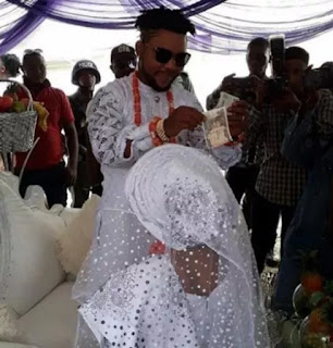 Oritsefemi and wife