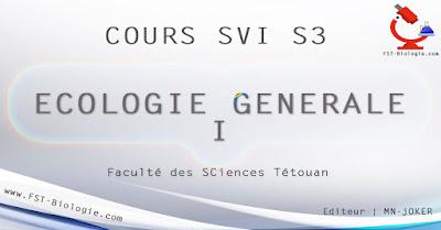 ECOLOGIE GENERALE SVI S3 PDF