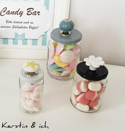 DIY Schraubgläser Candy Bar