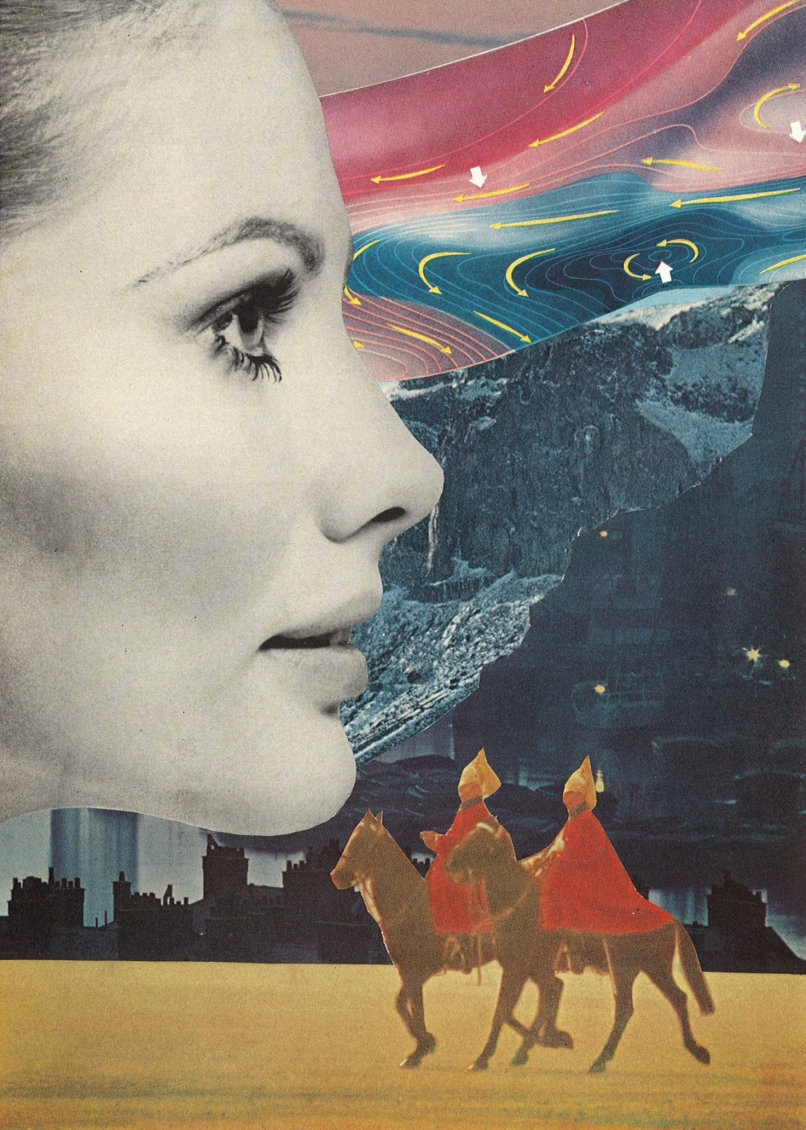 Doctor Ojiplatico. Jesse Treece. Collage Art by Jesse