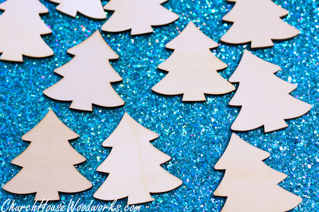 Children's Church Blank Unfinished Wood Ornaments DIY Crafts to Paint On - Kids Church Craft Ideas
