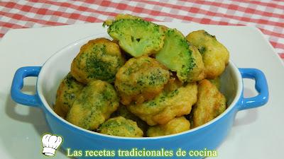 Cómo hacer brócoli rebozado o buñuelos de brócoli