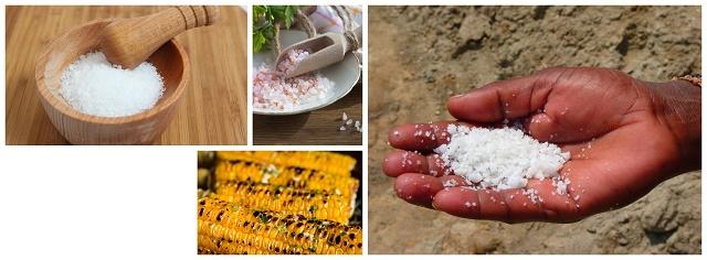 Salt mines in Africa