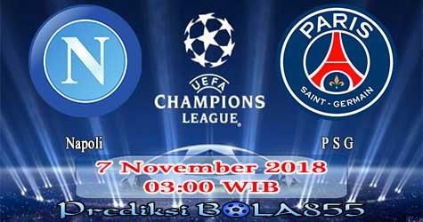 Prediksi Bola855 Napoli vs Paris Saint Germain 7 November 2018
