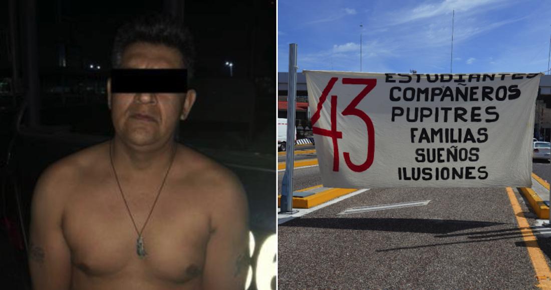 """La PF captura en Guerrero a """"La Rana"""", sicario relacionado con la desaparición de los 43 normalistas"""