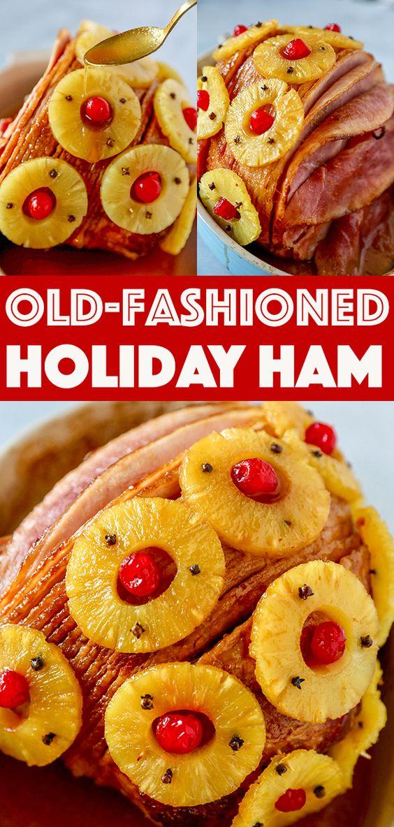 Old Fashioned Holiday Ham