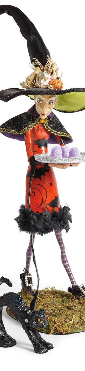 Grandin Road Esmeralda Witch Figurine