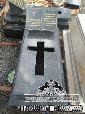 Kuburan Kristen Modern, Model Makam Kristen, Kijing Marmer