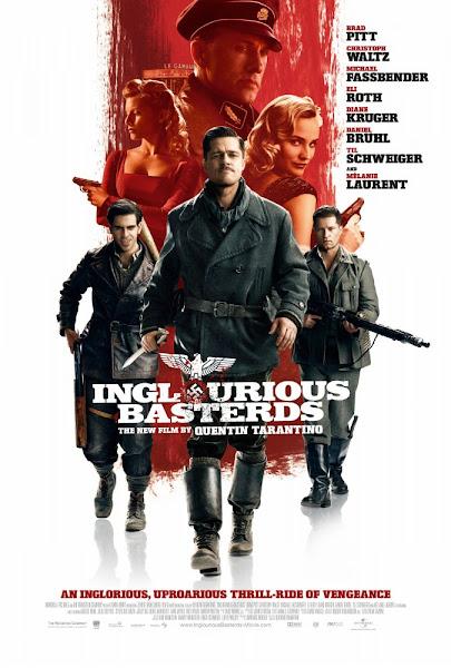 Poster Of Inglourious Basterds 2009 720p Hindi BRRip Dual Audio Full Movie