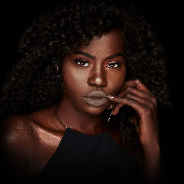 Click here to buy NYX Lip Lingerie Scandalous as an excellent choice for a nude on medium to dark skin tones