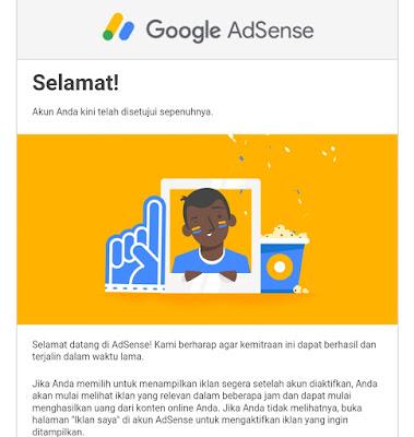 Tips Sempurna Agar Blogger di Terima di Google AdSense