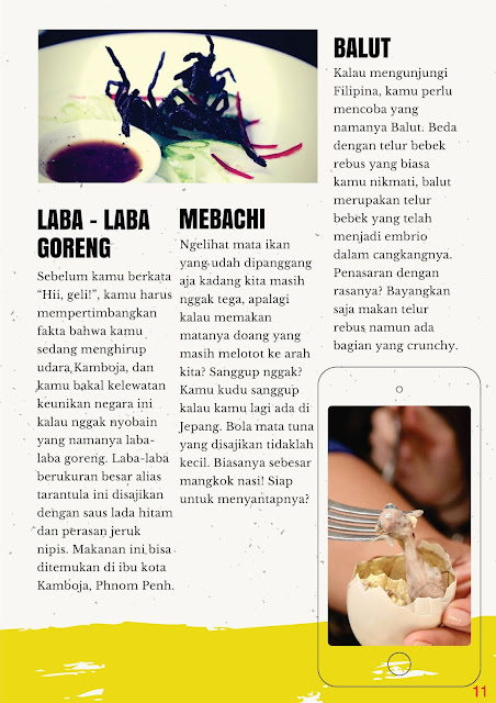 Desain Majalah Kuliner