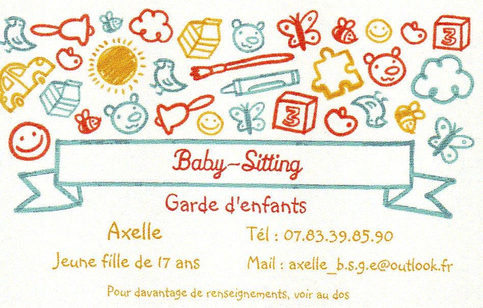 Jeune fille cherche baby sitting