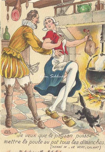 Henri IV est un roi légendaire pour ses amours et la poule au pot