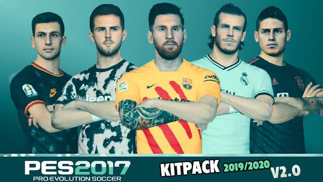 f3f7de7c254 PES 2017 New Season 2019 2020 Kitpack Version 2.0 - Micano4u