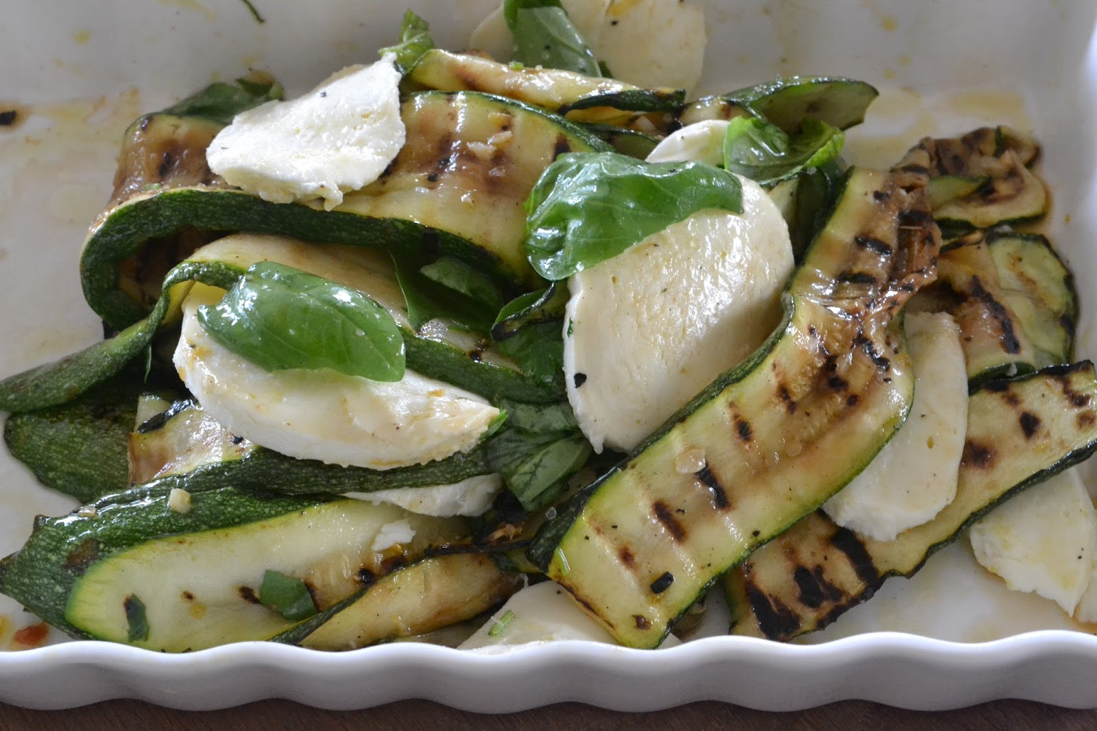 courgette oven grillen