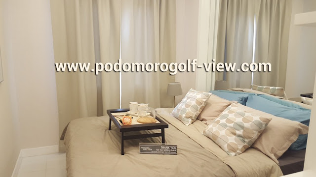 Foto Show Unit Apartemen Podomoro Golf View Apartment Bedroom