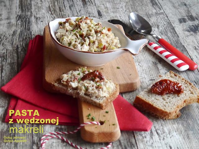Wędzona makrela do chleba z suszonymi pomidorkami - Czytaj więcej »