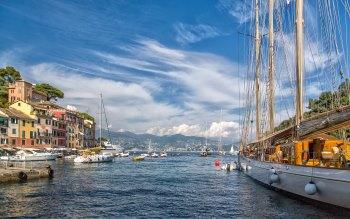 Wallpaper: Travel Boats Seaport