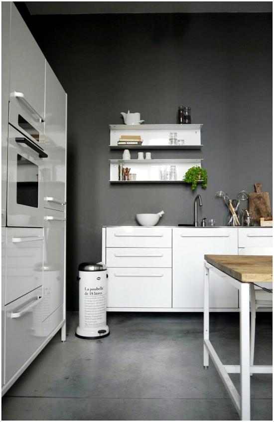 Em rita desastre cambiar la cocina - Cocinas blancas y gris ...