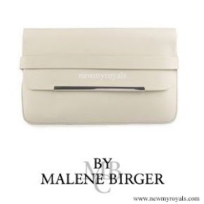 Crown Princess Victoria carried By Malene Birger Clutch Bag
