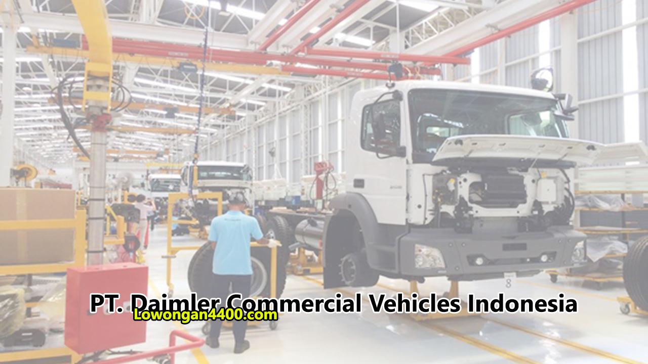 Lowongan Kerja PT. Daimler Commercial Vehicles Indonesia