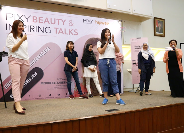PIXY Beauty Inspiring & Talks Universitas Tarumanagara #PixyBeautyInspiringTalks
