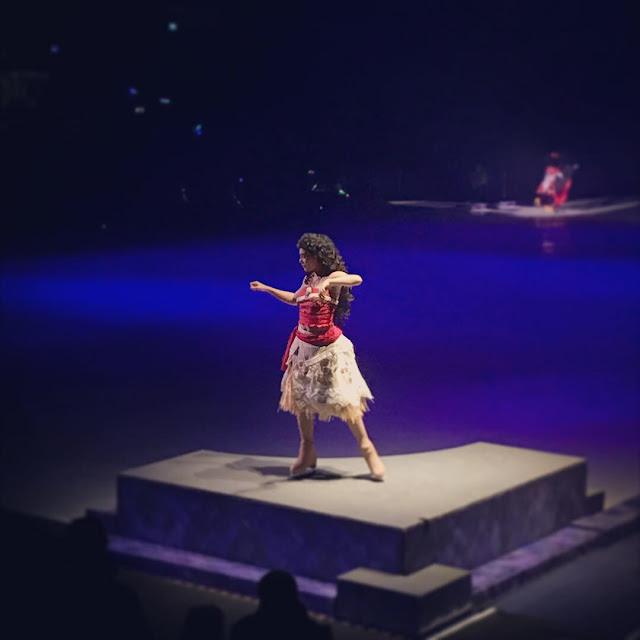 Disney on Ice presents Dream Big review - Moana